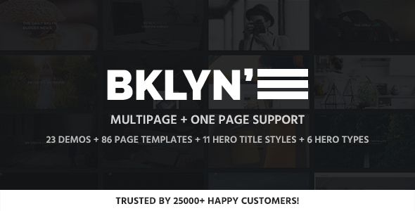 Brooklyn v4.3 – Responsive Multi-Purpose WordPress Theme