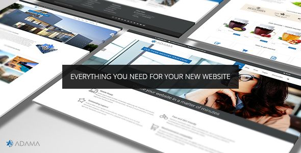 Adama v1.3.0 – Responsive Multi-Purpose WordPress Theme