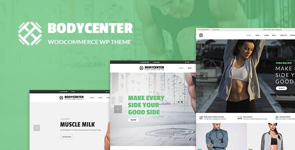 BodyCenter v1.7 – 健身房/运动WooCommerce WordPress主题