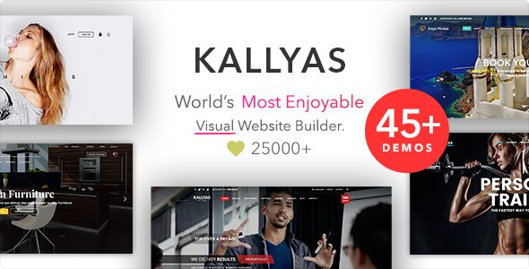 KALLYAS v4.14.0 – Responsive Multi-Purpose WordPress Theme