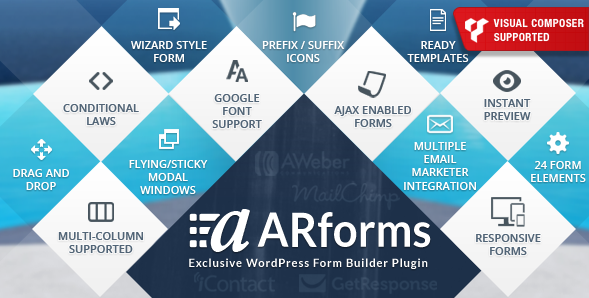 ARForms – WordPress Form Builder Plugin v2.7.8