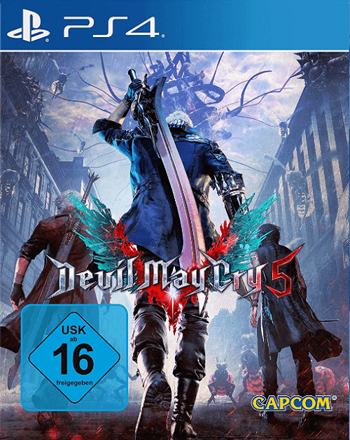 Devil May Cry 5 PS4 PKG