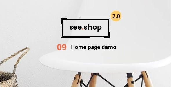 See Shop Furniture v2.1 – 响应式WooCommerce电商WordPress主题