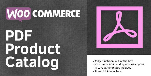 PDF Product Catalog for WooCommerce v2.2.0