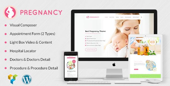Pregnancy Medical v1.4 – Health, Medical, Gynecologist Theme