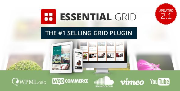 Essential Grid WordPress Plugin v2.1.5.1