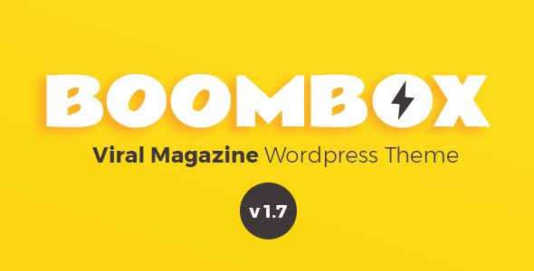 BoomBox v1.7 — Viral Magazine WordPress Theme