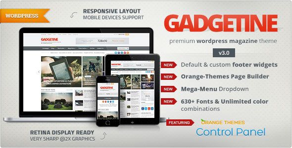 Gadgetine v3.0.7 – WordPress Theme for Premium Magazine