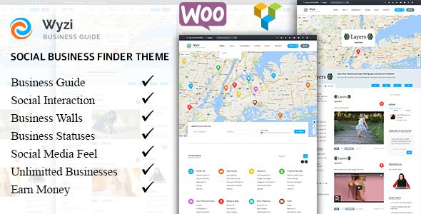WYZI v2.0.1 – Social Business Finder Directory Theme