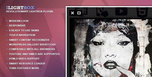 iLightBox v1.6.2 - Revolutionary Lightbox for WordPress