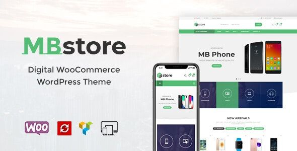 MBStore v1.6 – 数字WooCommerce WordPress主题