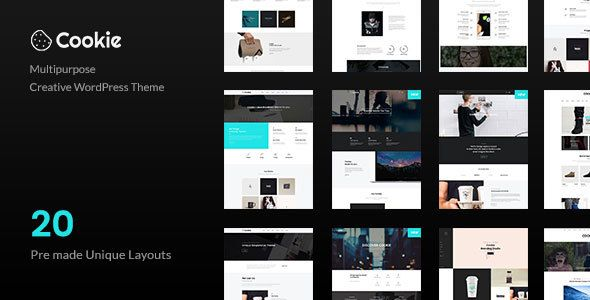 Cookie v2.2.4 - Multipurpose Creative WordPress Theme