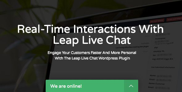 Leap v1.1.0 – Chat WordPress Plugin