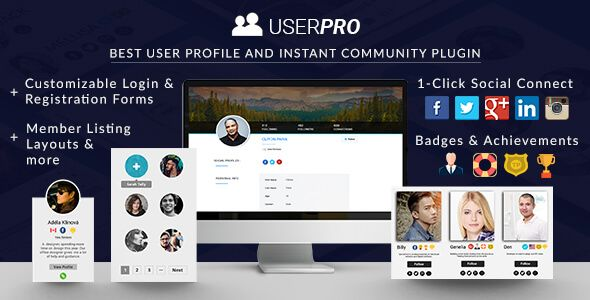 UserPro v4.9.12 – User Profiles with Social Login