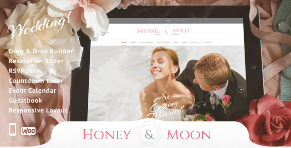 Honeymoon & Wedding v13 – Wedding and Wedding Planner