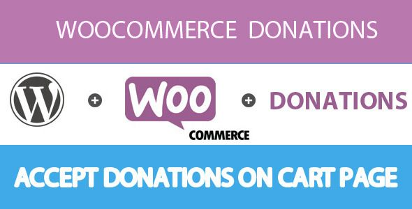 Woocommerce Donation v1.7 – WordPress Plugin