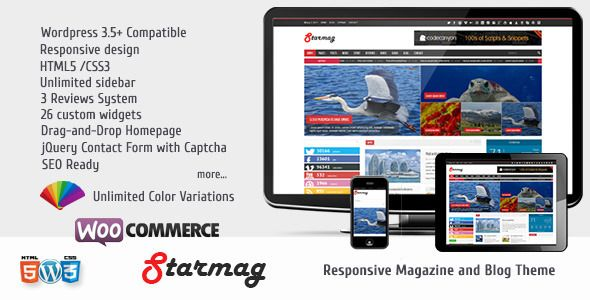 StarMag v1.3 – Themeforest News & Magazine Theme