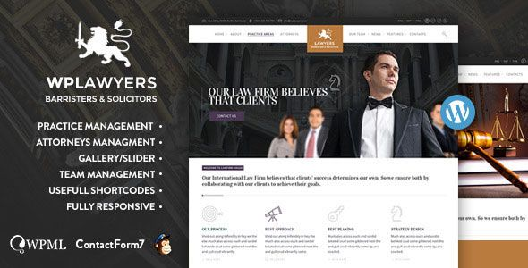 Law Practice v1.6 – Lawyers Attorneys Business Theme