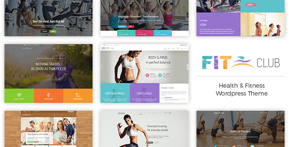 Fitness Club v1.0.3 – Health & Fitness WordPress Theme