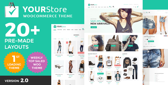 YourStore v1.8 – Woocommerce Theme