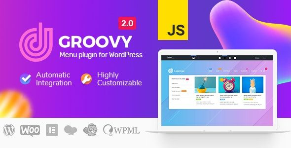 Groovy Menu v2.0.9.2 – WordPress兆丰菜单插件