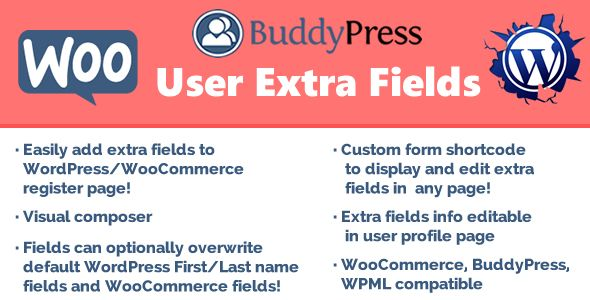 User Extra Fields v14.8 – 额外字段插件