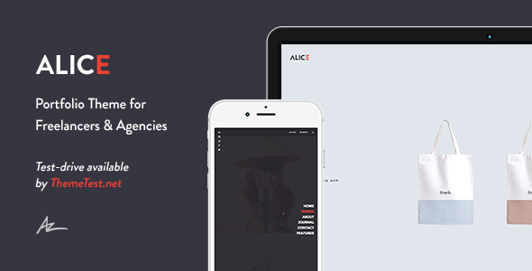 Alice v2.0.4.1 – Agency & Freelance Portfolio Theme