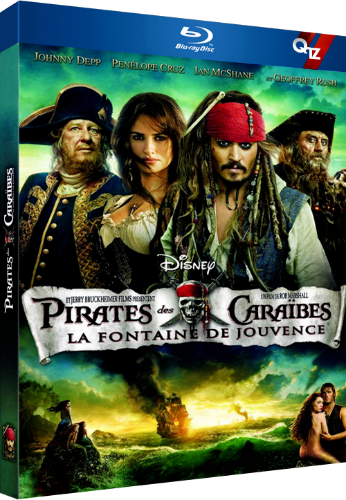 Pirates des Caraïbes : La Fontaine de Jouvence (2011) MULTi VFF 1080p 10bit HDLight BluRay AC3 5 1 x265-QTZ (Pirates of the Caribbean On Stranger Tides)