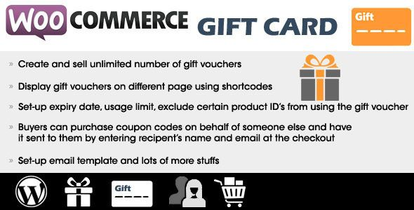 Woocommerce Gift Card v2.4