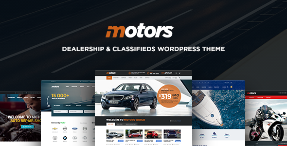 Motors v3.7 – Automotive, Cars, Vehicle, Boat Dealership