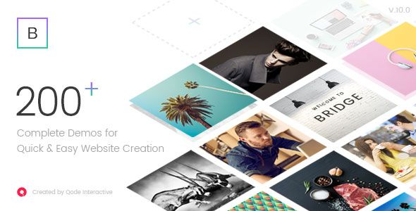 Bridge v10.1.2 – Creative Multi-Purpose WordPress Theme