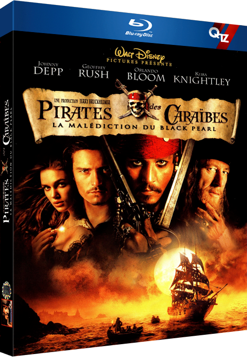 Pirates des Caraïbes : la Malédiction du Black Pearl (2003) MULTi VFF 1080p 10bit HDLight BluRay AC3 5 1 x265-QTZ (Pirates of the Caribbean The Curse of the Black Pearl)