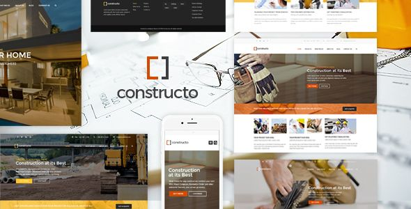 Constructo v3.2.9 – WP Construction Business Theme