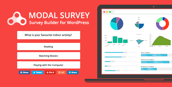 Modal Survey v1.9.7.7 – WordPress Feedbacks & Polls Plugin