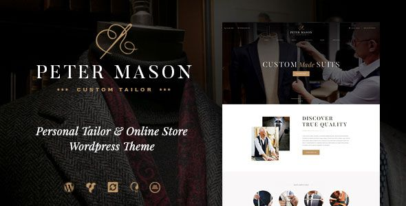 Peter Mason v1.0 – Custom Tailoring and Clothing Store