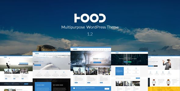 Hood v1.2.9 – Responsive Multi-Purpose Theme