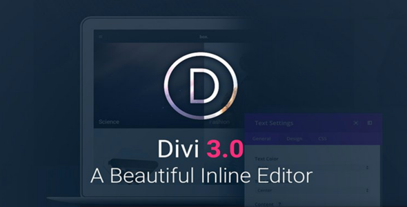 Divi v3.0.41 + PSD Files