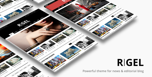 Rigel v1.4.1 – Responsive Magazine Newspaper Theme
