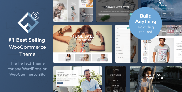 Flatsome v3.3.5 – Multi-Purpose Responsive WooCommerce Theme