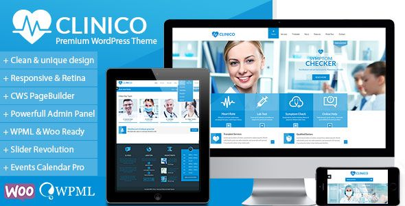 Clinico v1.6.8 – Premium Medical and Health Theme