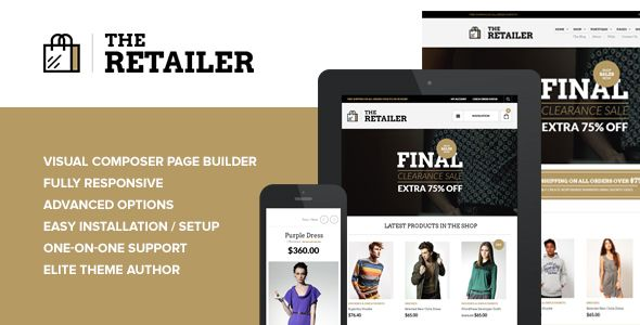 The Retailer v2.5.5 – Responsive WordPress Theme