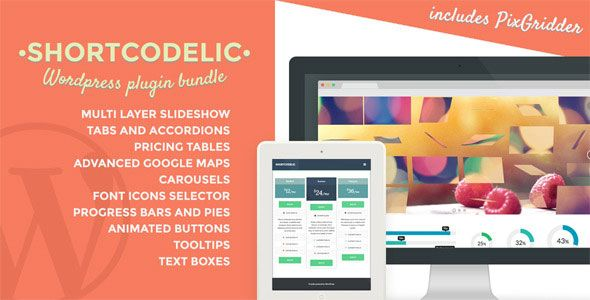 Shortcodelic v2.4.8 – WordPress Plugin Bundle