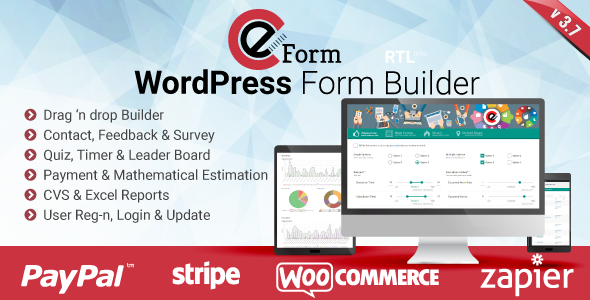 eForm v3.7.2 – WordPress Form Builder