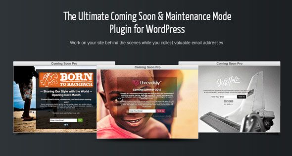 SeedPro v5.5.4 Comming Soon Pro – WordPress Plugin