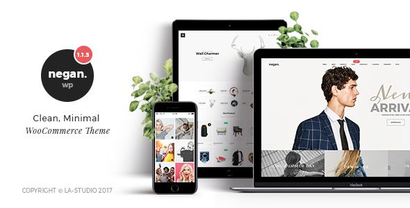Negan v1.3.7 – Clean, Minimal WooCommerce Theme