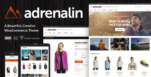 Adrenalin v2.0.7 – 多功能WooCommerce电商类WordPress主题