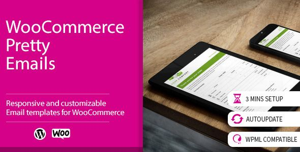 WooCommerce Pretty Emails v1.8.2