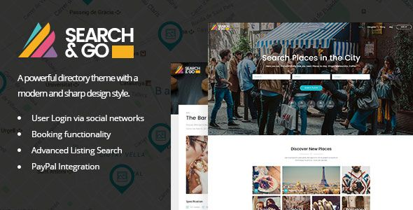 Search & Go v1.8 – Modern & Smart Directory Theme