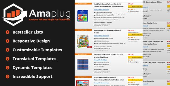 Amaplug v1.4.1.1 – Amazon Affiliate Plugin