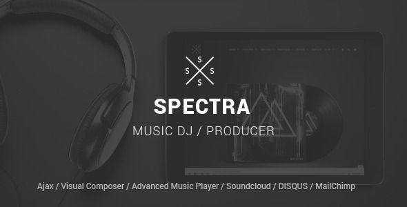SPECTRA v1.5.4 – Responsive Music WordPress Theme